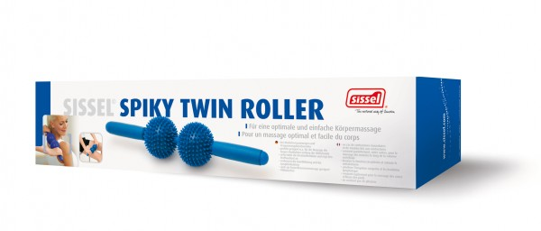 Sissel Spikey Twin Roller - Massagegerät