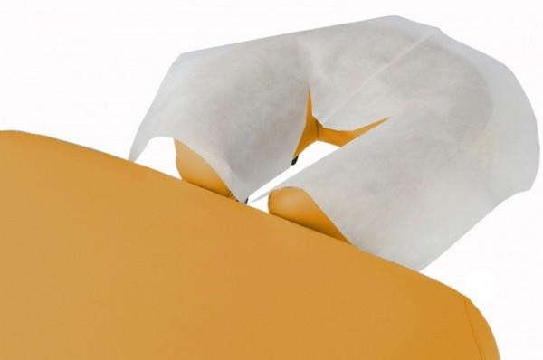 Einweg Kopfstützbezug - der perfekte hygienische Schutz - 100 Nasenschlitztücher / Einmalauflagen aus Vlies