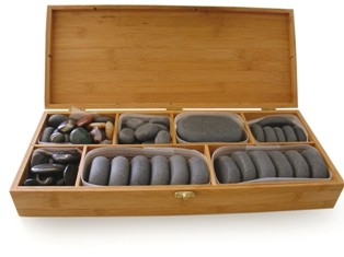 Hot Stone Set Deluxe by Sissel - 64 teilig