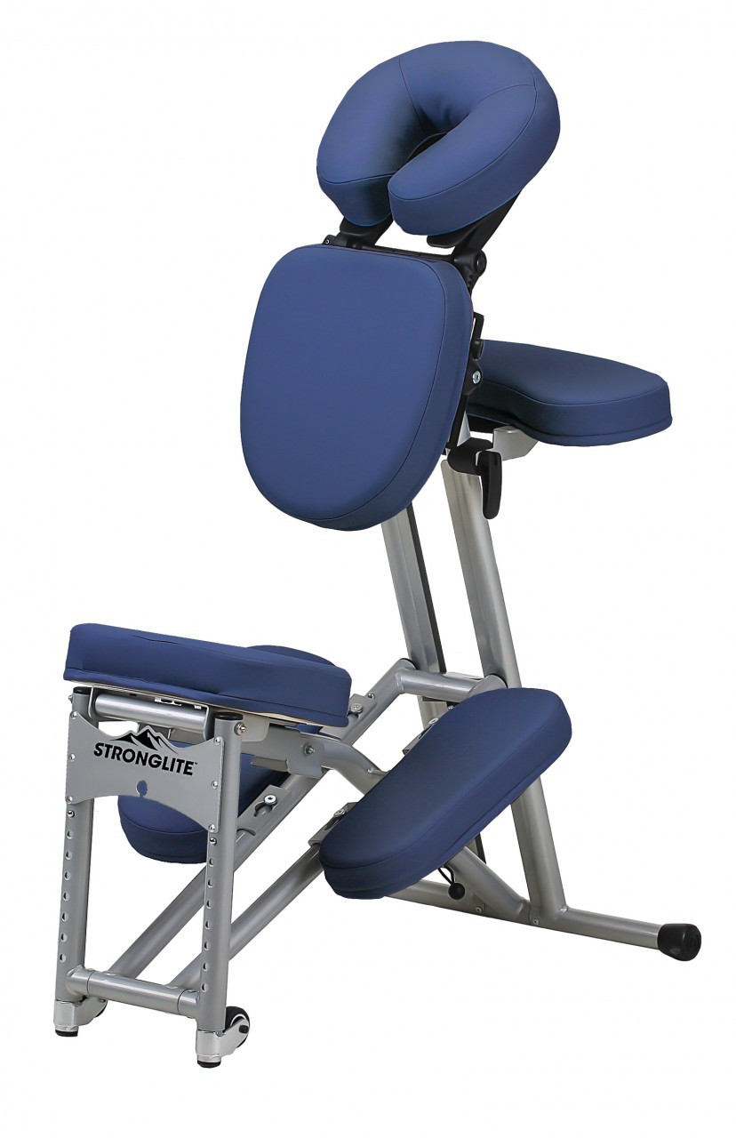 Klappbarer Massagestuhl Stronglite ERGO PRO II - royal blue