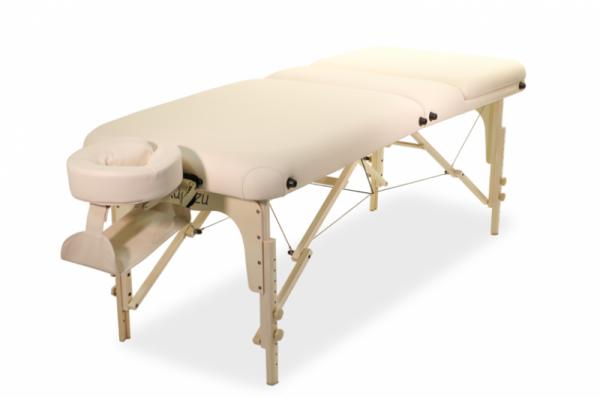 Mobile Massageliege - Kosmetikliege Classic Rest mit hochstellbaren Rückteil