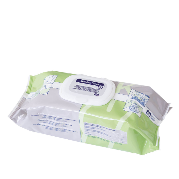 Gebrauchsfertige Desinfektionstücher | Mikrobac Tissues von Bode