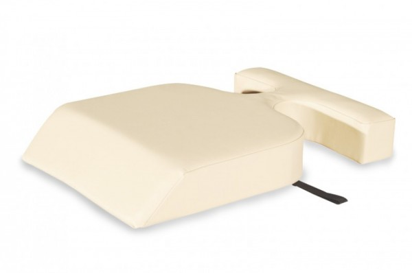 Venuskissen - Aussparungen für gezielte Entlastung, unterstützt die Entspannungshaltung & ergonomische Lagerung.