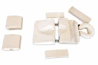 Lagerungspolster-Set für Schwangerenmassage, 9 -teilig, inkl. Rucksacktasche
