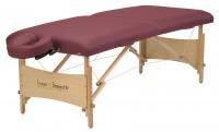 Mobile Massageliege | Inner Strength ELEMENT | Farbe - burgund