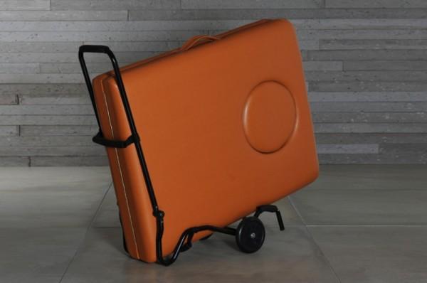 Transportwagen für Massageliegen / Massagebänke