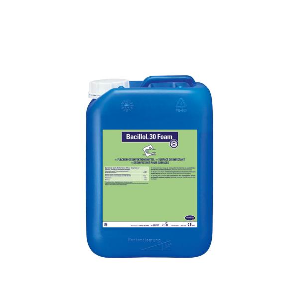 Bacillol Desinfektions Schaum 5000 ml | Hygiene für empfindliche Oberflächen wie Kunstleder u.v.m.
